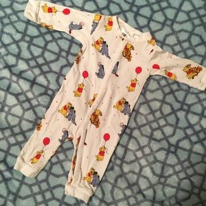 Pooh one-piece or PJs